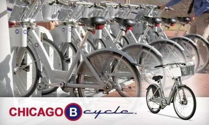 B-cycle - Chicago: $19 for a 90-Day B-cycle Bike Share Membership ($55 Value)