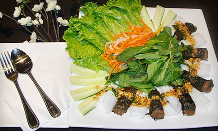 Miss Sai Gon Bar & Grill - La Mesa: $20 for an Authentic Vietnamese Meal for Two at Miss Sai Gon Bar & Grill (Up to $43.85 Value)