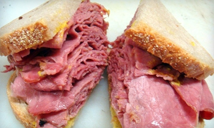 The Downtown Deli - Toronto: $5 for $10 Worth of Deli Fare and Drinks at The Downtown Deli