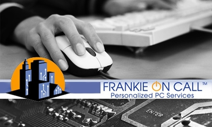 Frankie on Call - Kansas City: $29 for an In-Home Computer Spring Cleaning from Frankie on Call ($149 Value)