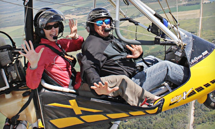 Adventure At Altitude - Steinbach: $250 for a Couples' Ultralight Hang-Gliding Package from Adventure At Altitude in Steinbach (Up to $500 Value)