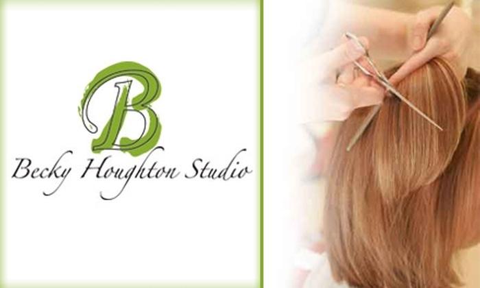Becky Houghton Studio  - Sedalia: $18 for Shampoo, Haircut, and Blow Dry at Becky Houghton Studio