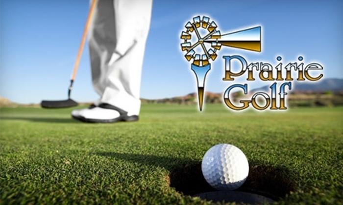 Prairie Golf - Richland VIII: $45 for $100 Toward Golf Goods at Prairie Golf