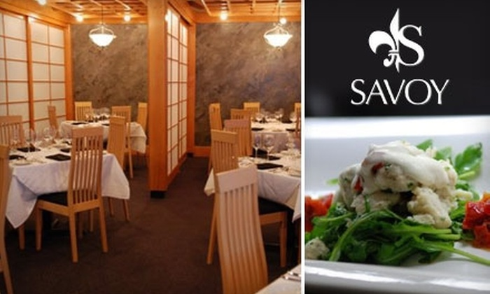 Savoy - North Raleigh: $30 for $65 Worth of Contemporary American Dining at Savoy
