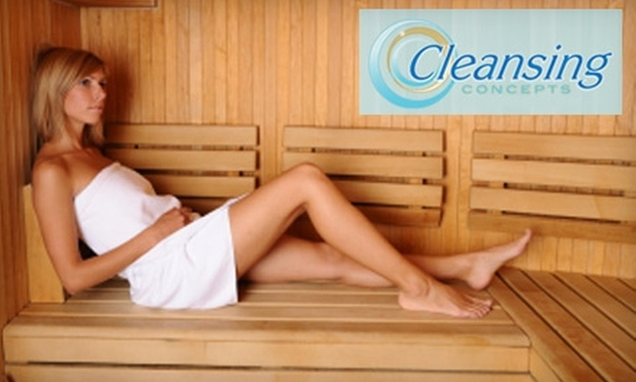 Cleansing Concepts - Westbury: $75 For Five Sessions in a Far Infrared Sauna (a $150 value) at Cleansing Concepts in Westbury