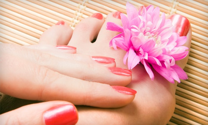 Shears Edge Hair & Nail Salon - Chandler: Classic Mani-Pedi or Classic Manicure with Deluxe Pedicure at Shears Edge Hair & Nail Salon in Chandler (Up to 59% Off)