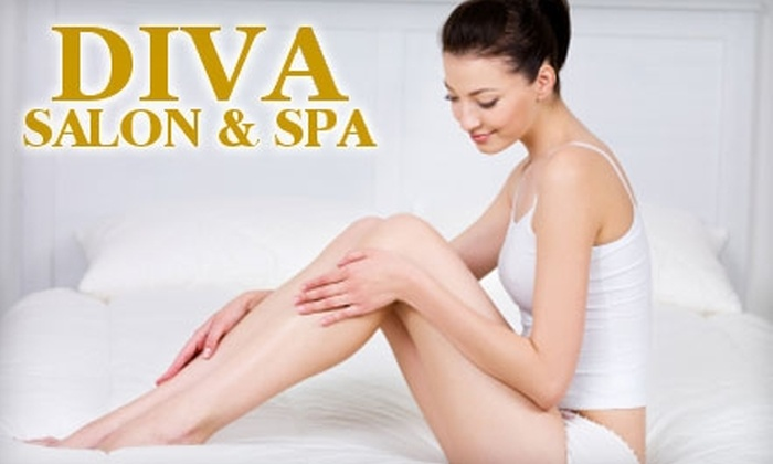 Diva Salon and Spa - Brooklyn Heights: $32 for Eyebrow and Brazilian Bikini Wax at Diva Salon and Spa ($65 Value)