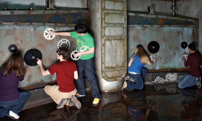 """5 Wits - Worcester: $9 for Admission to """"20,000 Leagues"""" Interactive Adventure at 5 Wits in Foxborough (Up to $18 Value)"""