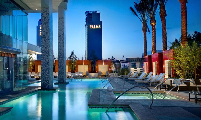 Palms Place at the Palms - Las Vegas: Two-Night Stay Plus Ghostbar Club Passes or Daily Pool Credit at Palms Place at the Palms in Las Vegas