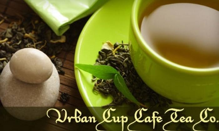 Urban Cup Cafe Tea Company: $10 for $25 Worth of Tea from Urban Cup Cafe Tea Company