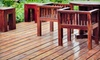 Mr. Squeaky Clean - Deyerle: Deck Staining for Up to 100, 250, or 400 Square Feet from Mr. Squeaky Clean (Up to 60% Off)