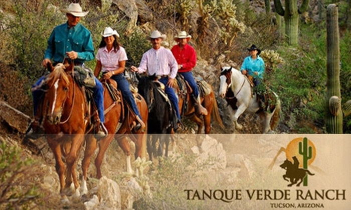 Tanque Verde Ranch Resort - Tucson: $99 for One-Night Stay and Breakfast for Two at Tanque Verde Ranch Resort ($225 Value)