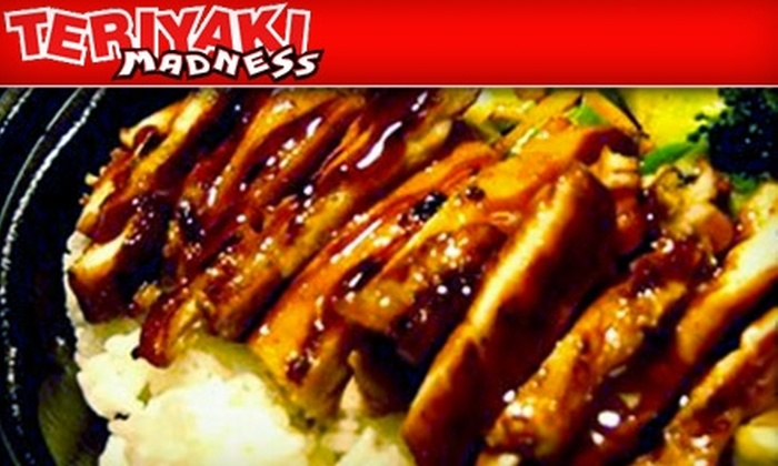Teriyaki Madness - Green Valley South: $10 for $20 Worth of Japanese Fare and Drinks at Teriyaki Madness in Henderson