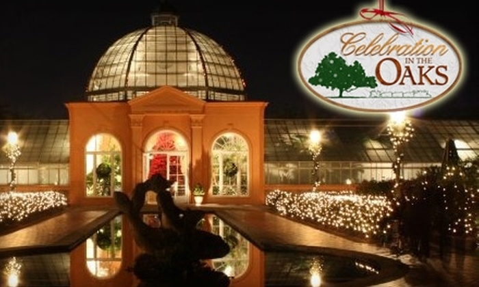 Celebration in the Oaks - City Park: Half Off Admission to Celebration in the Oaks. Choose Between Two Options.