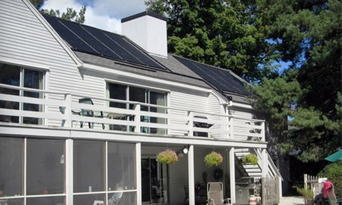 RES Solar - Davis Square: $99 for $1,000 Toward Installation of a Solar-Powered Water-Heating System from RES Solar