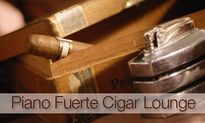 Piano Fuerte Cigar Lounge - Vacaville: $10 for $20 Worth of Cigars and Smoking Accessories at Piano Fuerte Cigar Lounge in Vacaville