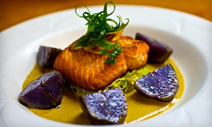 Sacks Cafe and Restaurant - Downtown: Upscale New American Cuisine for Dinner, Lunch, or Brunch at Sacks Cafe and Restaurant (Half Off)