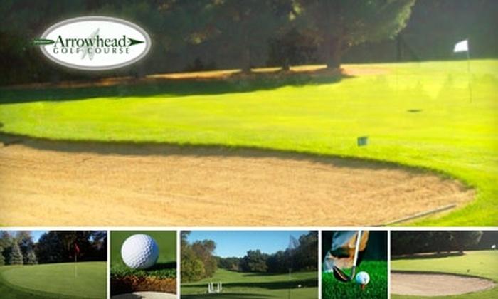 Arrowhead Golf Course - Vergennes: $28 for an 18-Hole Round for Two Plus a Cart at Arrowhead Golf Course (Up to $64 Value)