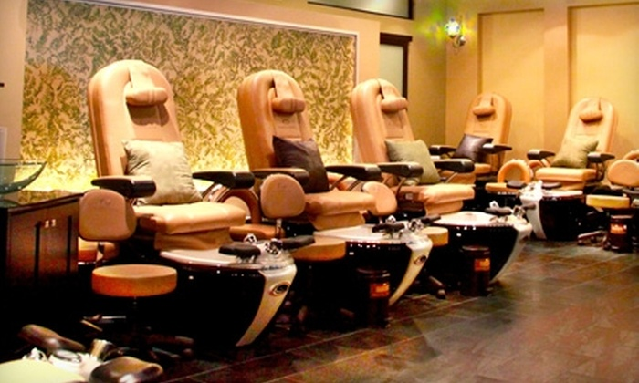 Nail Garden - West Los Angeles: $20 for the Decadent Mani-Pedi at Nail Garden in Brentwood ($40 Value)