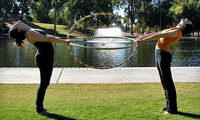 Hooping in the Park - Sam Hughes: $8 for 90-Minute Beginner Hoop Dance Class from Hooping in the Park ($16 Value)