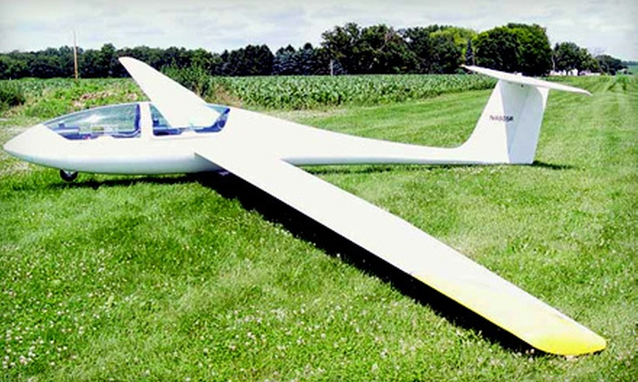 Sylvania Soaring Adventures - Beloit: $125 for an Introductory Sailplane Flight and Ground Lesson from Sylvania Soaring Adventures in Beloit ($250 Value)