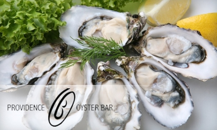 Providence Oyster Bar - Federal Hill: $25 for $50 Worth of Seafood and More at Providence Oyster Bar