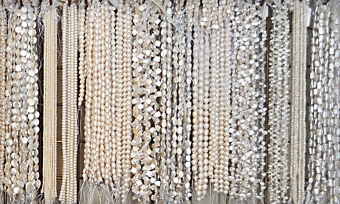 Pearlwear - Solana Beach: Beading Class and Materials, Finished Jewelry, or Pearl Earrings at Pearlwear in Solana Beach