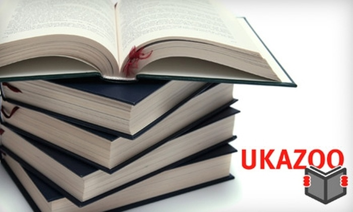 Ukazoo Books - Towson: $10 for $20 Worth of New and Used Books at Ukazoo Books in Towson