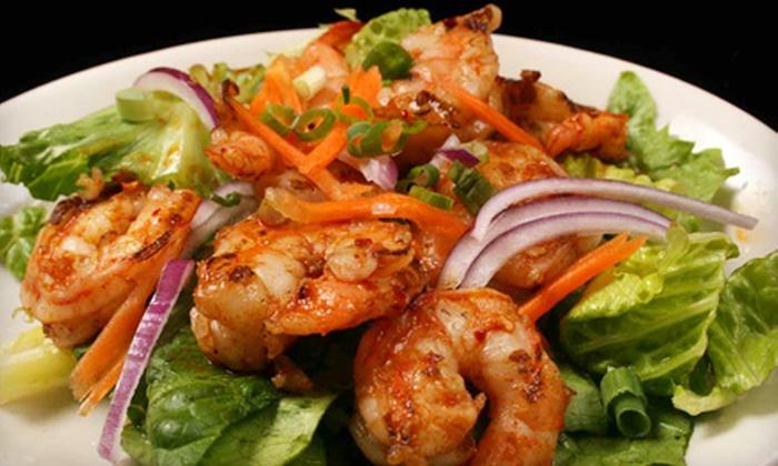 Thai Silk - Buckhead Triangle,Buckhead Village,Mayfair: $10 for $20 Worth of Thai Cuisine, Sushi Bar, and Drinks During Lunch at Thai Silk or $12 for $30 Worth of Thai Cuisine, Sushi Bar, and Drinks During Dinner
