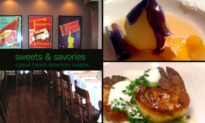 Sweets & Savories - Chicago: $20 for $40 Worth of Casual French American Cuisine at Sweets & Savories