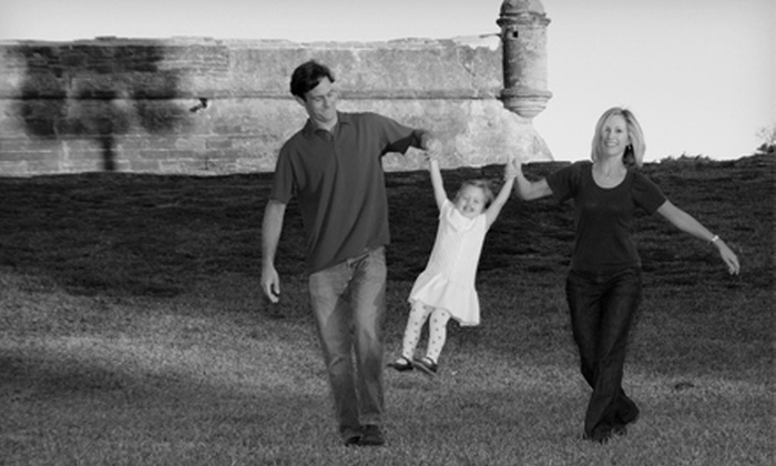 Alena's Photography Studio - Jacksonville: $49 for an On-Location Express Photo Shoot for Up to Six from Alena's Photography Studio ($277 Value)