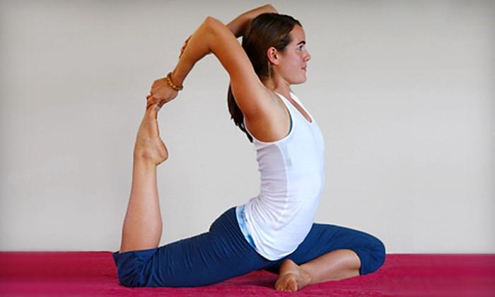 Ashtanga Yoga Studio - Old Silk Stocking: $20 for Five Yoga Classes at Ashtanga Yoga Studio in Norman ($50 Value)