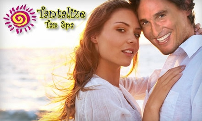 Tantalize Tan Spa - Grapeview: $30 for Two Full Body U.V. Free Spray Tans at Tantalize Tan Spa ($70 Value)