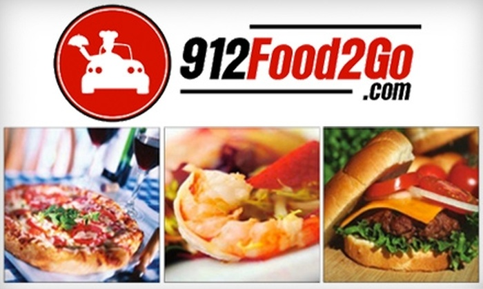 912Food2Go.com - Savannah / Hilton Head: $10 for $20 Worth of Restaurant Meal Delivery Services from 912Food2Go.com