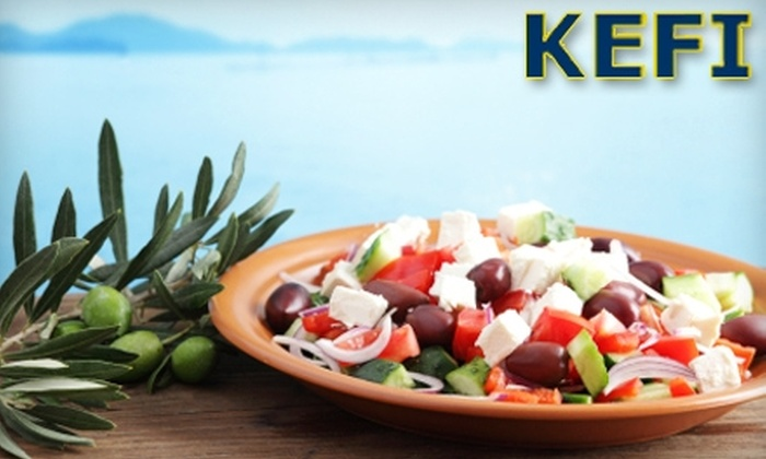 Kefi - Northeast Regina: $12 for $25 Worth of Greek Fare at Kefi