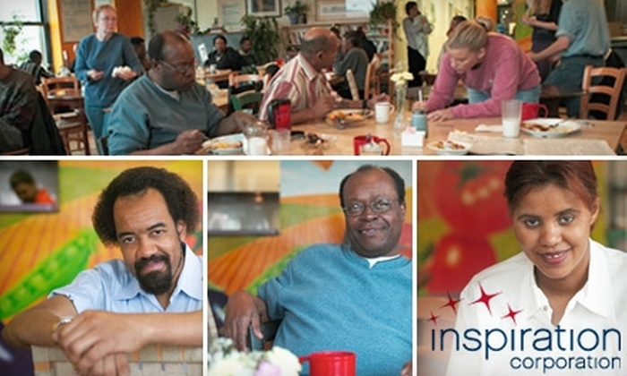 Inspiration Corporation: Donate $10 or More, With Each Donation Matched, to Build Social Enterprise Job Training Program and Restaurant in Garfield Park with Inspiration Corporation