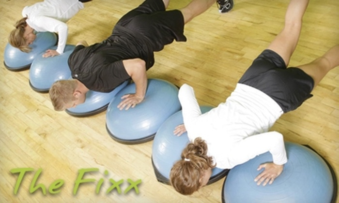 The Fixx Workout Studio - Fulton: $39 for Two Weeks of Unlimited Fitness Classes at The Fixx Workout Studio