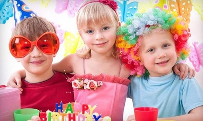 Imajine That - Lawrence: $15 for One-Month Kids' Playspace Membership to Imajine That in Lawrence (Up to $30 Value)