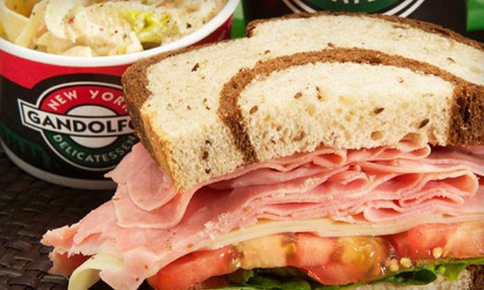Gandolfo's New York Deli - Tempe: Sandwich Combo for Four or $7 for $15 Worth of Deli Fare at Gandolfo's New York Deli in Tempe
