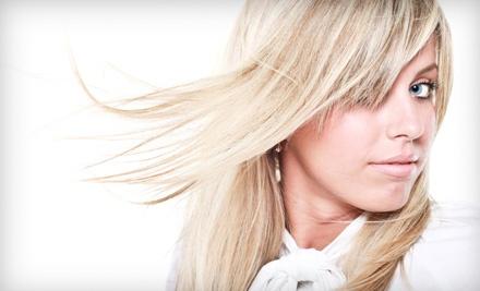 Core Salon & Spa: Spa Haircut, Scalp Massage, Blowout, and Partial Highlights - Core Salon & Spa in Randolph