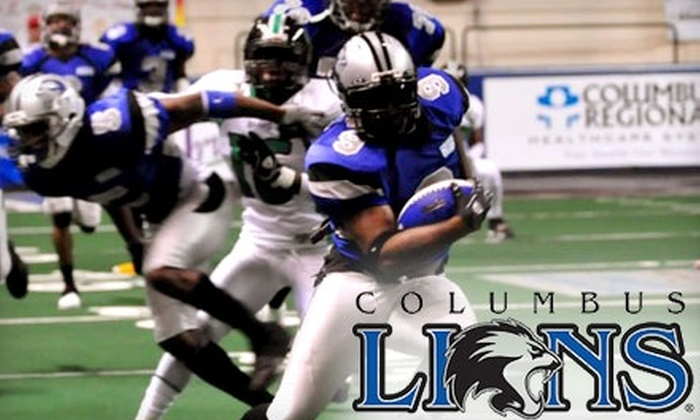 Columbus Lions - Columbus: $38 for a Season-Ticket Package to the Columbus Lions 2011 Season at the Columbus Civic Center ($77 Value)