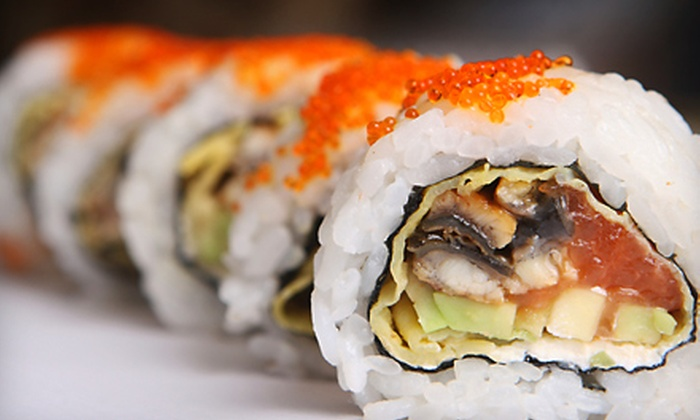 Kumo Sushi - Flatbush - Ditmas Park: $20 for $40 Worth of Japanese Cuisine Plus Two Soft Drinks at Kumo Sushi in Brooklyn