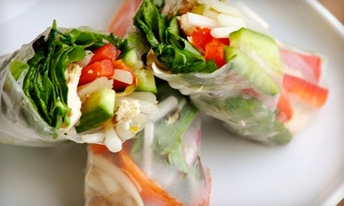 E Cafe - Westmore: $5 for $10 Worth of Asian Fare at E Cafe in Orem