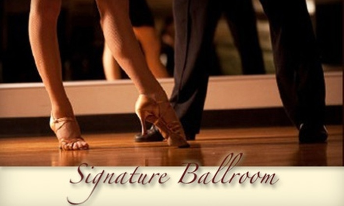 Signature Ballroom - Mission: $39 for Two Private Dance Lessons at Signature Ballroom ($120 Value)