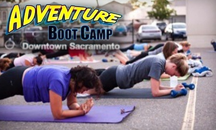 Adventure Boot Camp - Multiple Locations: $45 for Six Intensive, Outdoor Boot-Camp Sessions at Adventure Boot Camp