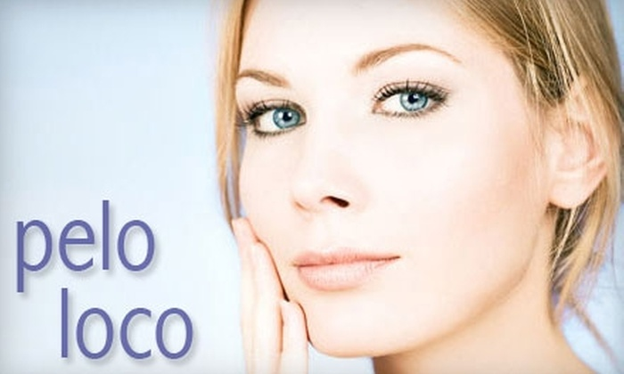 Pelo Loco Salon and Spa - Mission Industrial: $25 for a Relaxation Facial at Pelo Loco Salon & Spa ($50 Value)