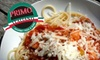 Primo Italiano - Rockville: $12 for $25 Worth of Italian Fare During Dinner at Primo Italiano in Rockville (or $6 for $12 Worth of Lunch)