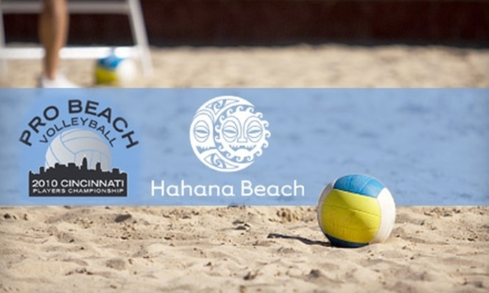 Pro Beach Volleyball Players Championship - Columbia: $14 for a Ticket to the Pro Beach Volleyball Players Championship on Friday, September 3, or Saturday, September 4 ($30 Value) **OR** $16 for a Ticket to the Finals Session on Sunday, September 5 ($35 Value)