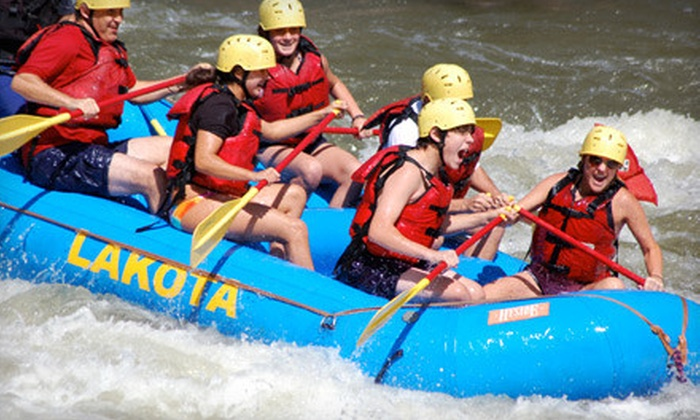 Lakota Guides - Edwards: Whitewater-Rafting Package for Two or Four from Lakota Guides (Up to 54% Off)