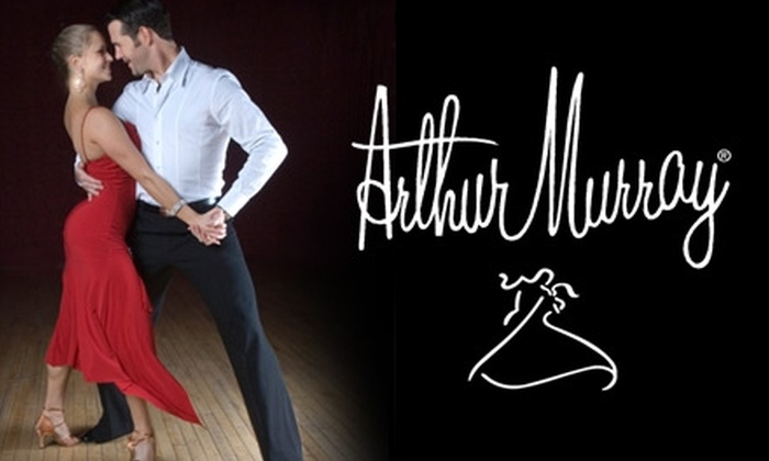 Arthur Murray Dance Studio - Multiple Locations: $45 for Two Private Lessons, Two Group Dance Classes, and One Practice Party at Arthur Murray Dance Studio ($210 Value). Choose from Three Locations.